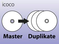CD/DVD/BD Duplikation