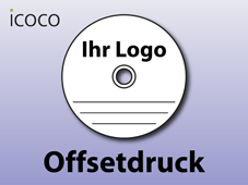 CD/DVD Offsetdruck