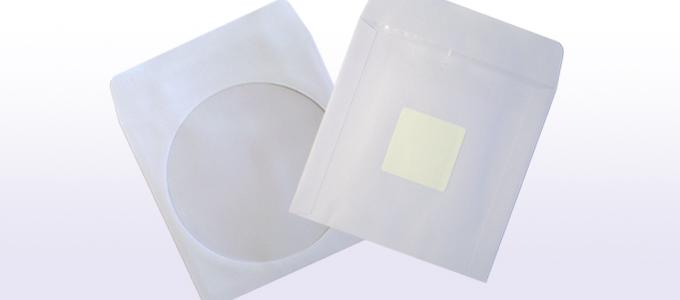 Papierstecktaschen mit Klebepunkt